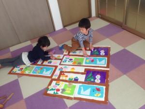 2歳「街づくり」2